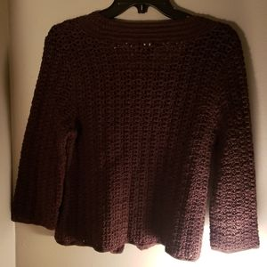 Talbots hand knitted sweater
